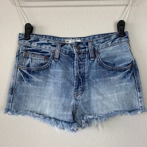 Free People Denim Shorts Size 25